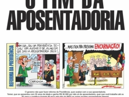 Jornal da CUT alerta que Temer quer que você trabalhe até morrer
