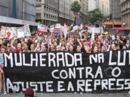 Mulheres vão às ruas barrar Reforma da Previdência do Temer