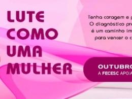 Outubro Rosa alerta sobre prevenção do câncer de mama